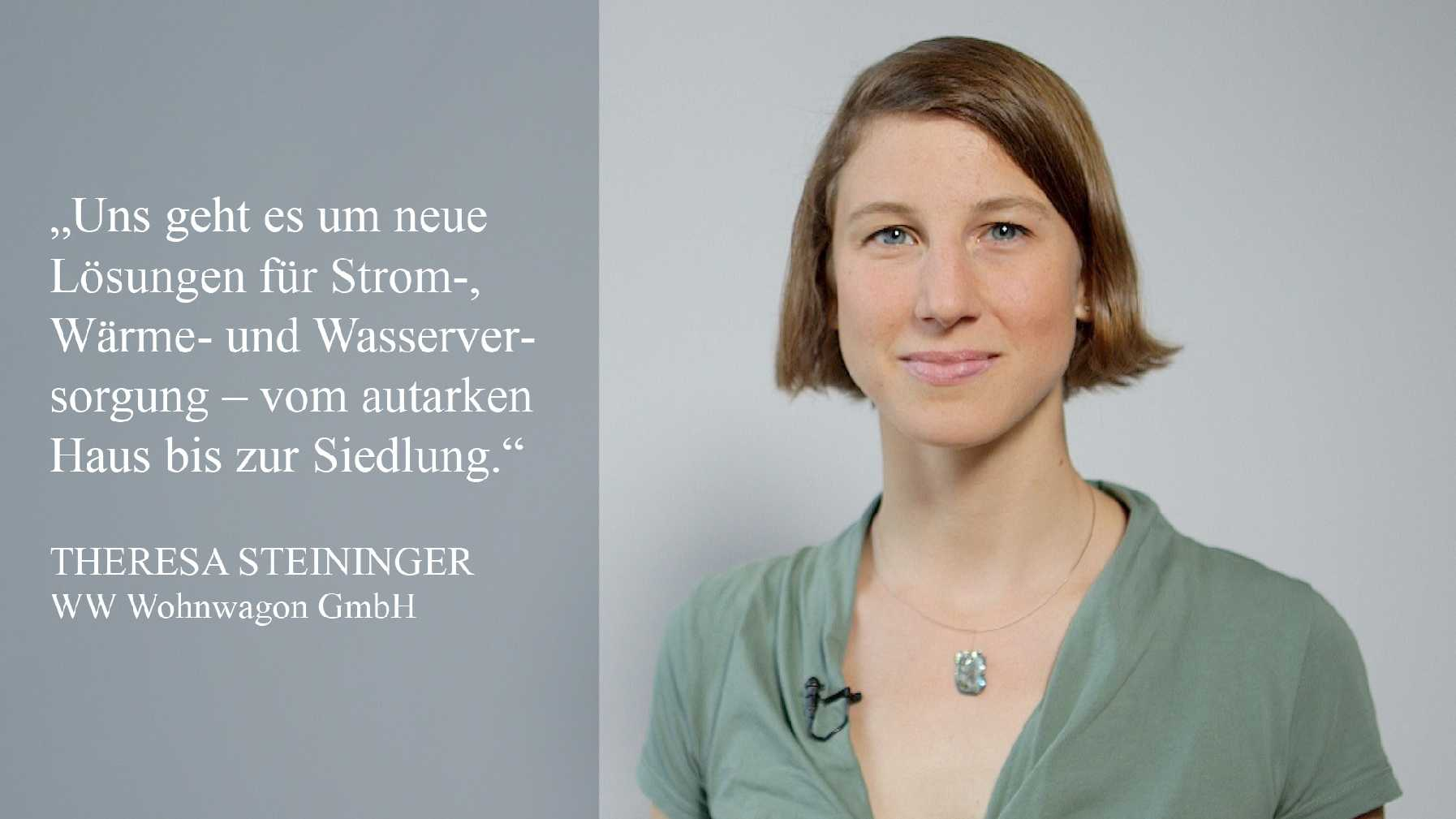 Interview mit klimaaktiv Partner   Theresa Steininger, WW Wohnwagon GmbH