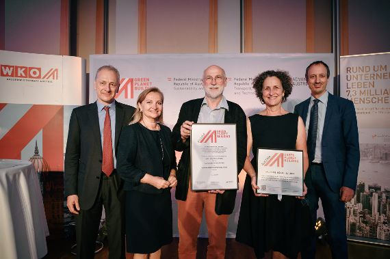 Auszeichnung Austrian Green Planet Building Awards 2019